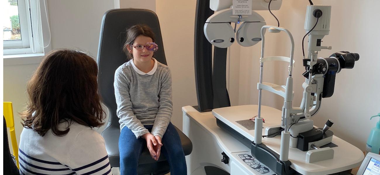Acuité visuelle pédiatrie