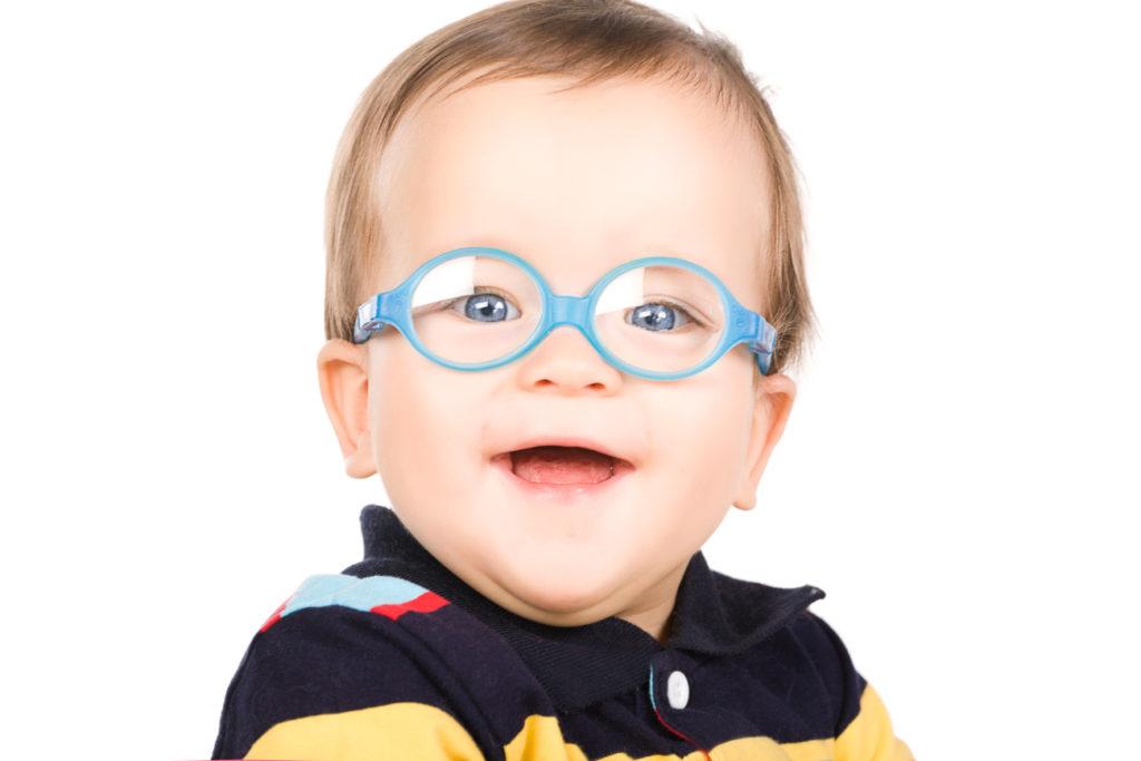 Bébé lunettes silicones