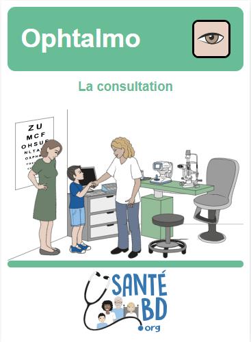 La consultation Ophtalmologie Pédiatrique