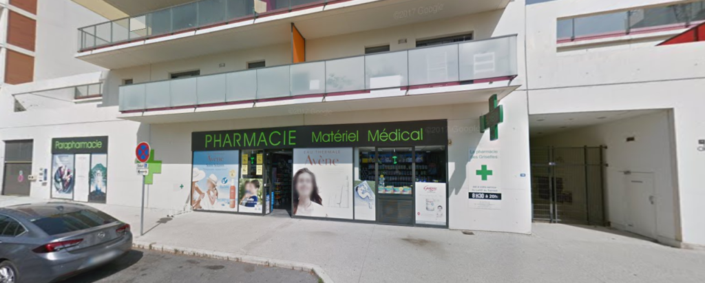 Pharmacie des grisettes Cabinet Ophtalmo pratique