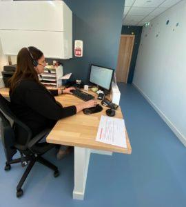 Secrétariat du cabinet Ophtalmo Pédiatrie de Montpellier