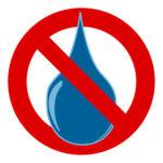 pas d'eau
